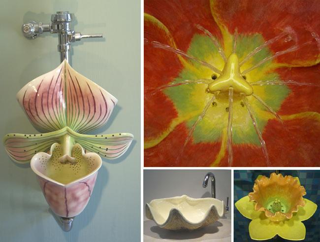 Clark Sorensen Bathroom Sculptures